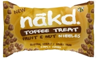 Nakd Bar Toffee Treat Mini Nibbles, 40g
