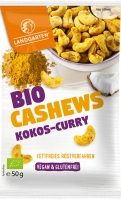 Landgarten Bio Cashews Kokos-Curry, 50g