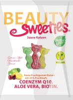 Beauty Sweeties Saure Katzen, 125g